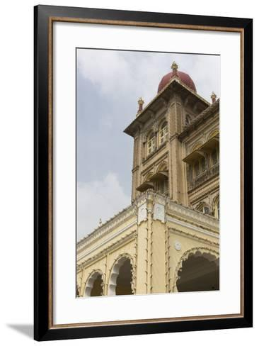 A String of Lights Line the Exterior of Mysore Palace-Kelley Miller-Framed Art Print