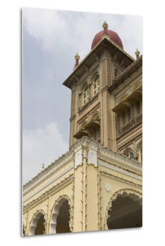 A String of Lights Line the Exterior of Mysore Palace-Kelley Miller-Metal Print