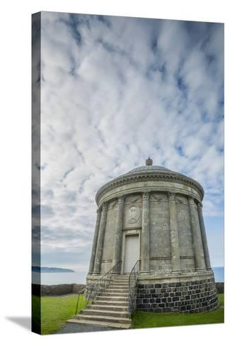 Mussenden Temple at Downhill Demesne-Tim Thompson-Stretched Canvas Print
