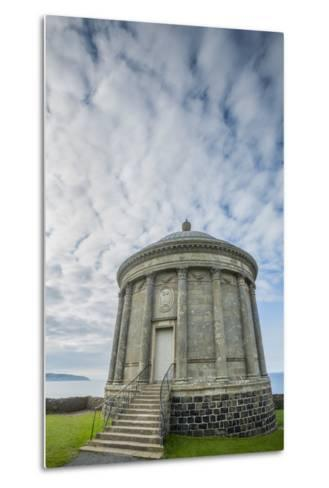 Mussenden Temple at Downhill Demesne-Tim Thompson-Metal Print