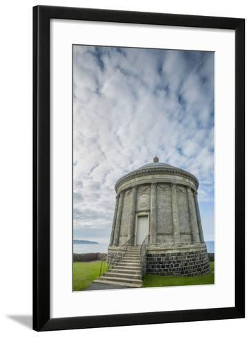 Mussenden Temple at Downhill Demesne-Tim Thompson-Framed Art Print