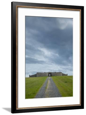 Downhill House on the Downhill Demesne-Tim Thompson-Framed Art Print