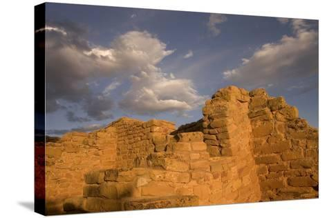 The Far View Ruins in Mesa Verde National Park-Phil Schermeister-Stretched Canvas Print