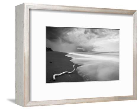 Stormy Beach on the Osa Peninsula of Costa Rica-Robin Moore-Framed Art Print