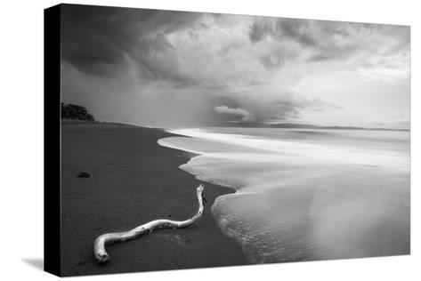 Stormy Beach on the Osa Peninsula of Costa Rica-Robin Moore-Stretched Canvas Print