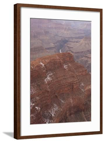A View of the Grand Canyon from Pima Point, a View Point Along Hermit Road on the South Rim-Phil Schermeister-Framed Art Print