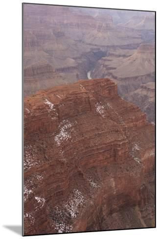 A View of the Grand Canyon from Pima Point, a View Point Along Hermit Road on the South Rim-Phil Schermeister-Mounted Photographic Print