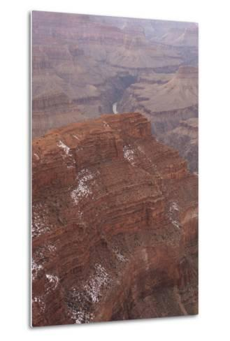 A View of the Grand Canyon from Pima Point, a View Point Along Hermit Road on the South Rim-Phil Schermeister-Metal Print