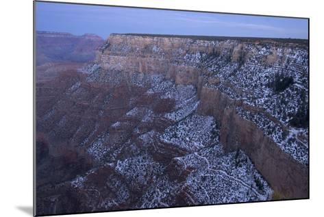 A View of the Grand Canyon from the Rim Trail, a View Point Along Hermit Road on the South Rim-Phil Schermeister-Mounted Photographic Print