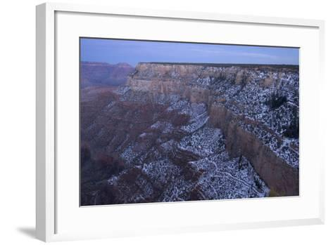 A View of the Grand Canyon from the Rim Trail, a View Point Along Hermit Road on the South Rim-Phil Schermeister-Framed Art Print