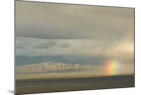 A Rainbow over Great Basin National Park-Phil Schermeister-Mounted Photographic Print