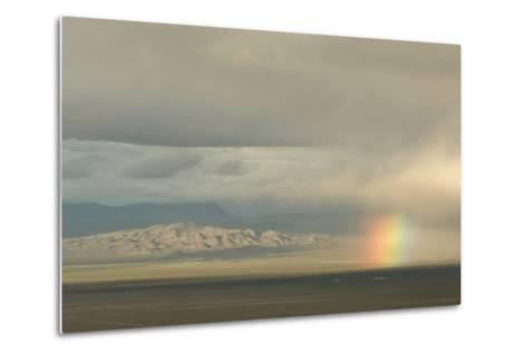 A Rainbow over Great Basin National Park-Phil Schermeister-Metal Print