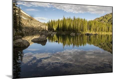 A Beautiful Alpine Lake Glows in the Morning Light, Deep in the Swan Mountain Range-Ami Vitale-Mounted Photographic Print