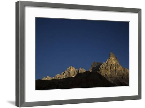The Cimon Della Pala on a Clear Day-Ulla Lohmann-Framed Art Print