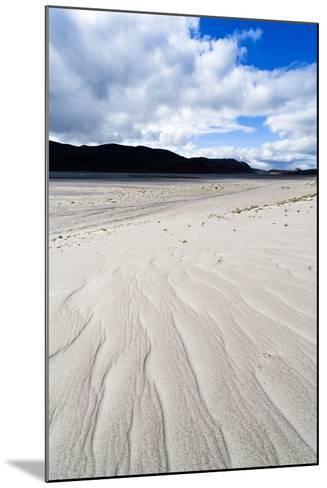 Wind Generated Linear Patterns on an Arctic Desert Sand Dune-Jason Edwards-Mounted Photographic Print