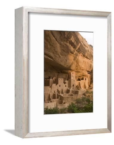 The Ruins of a Cliff Dwelling, Cliff Palace, in Mesa Verde National Park-Phil Schermeister-Framed Art Print