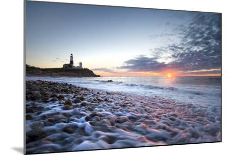Sunrise at Montauk Point Lighthouse-Robbie George-Mounted Photographic Print