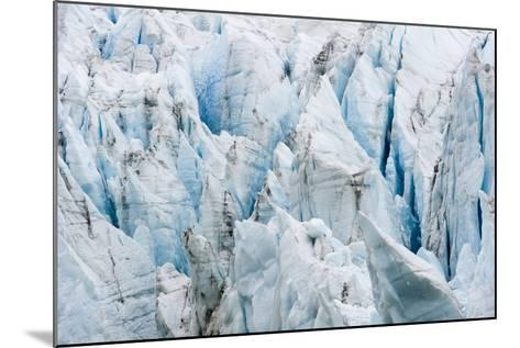 Treacherous Jagged Ice Spires on a Glacier Fracture Zone known as Serac-Jason Edwards-Mounted Photographic Print