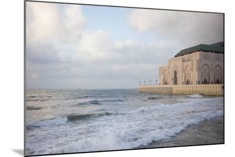 The Hassan Ii Mosque on the Edge of the Atlantic Ocean in Casablanca-Erika Skogg-Mounted Photographic Print