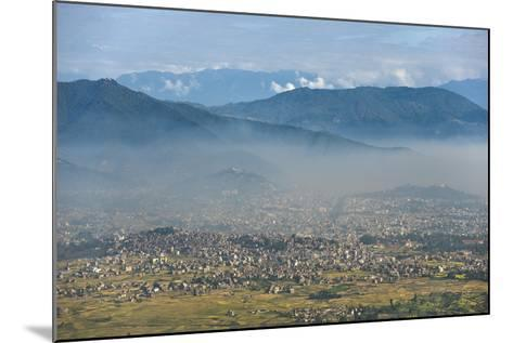 Kathmandu Valley Seen from the Top of Hatiban Resort-Alex Treadway-Mounted Photographic Print
