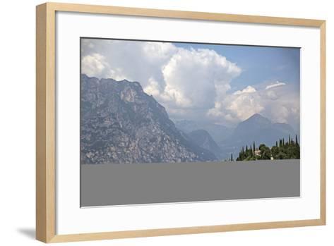 Lake Garda Near Malcesine-Ulla Lohmann-Framed Art Print