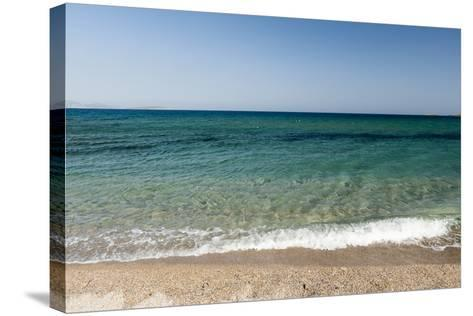 A Scenic View of the Aegean Sea from Soros Beach, on Antiparos Island-Sergio Pitamitz-Stretched Canvas Print