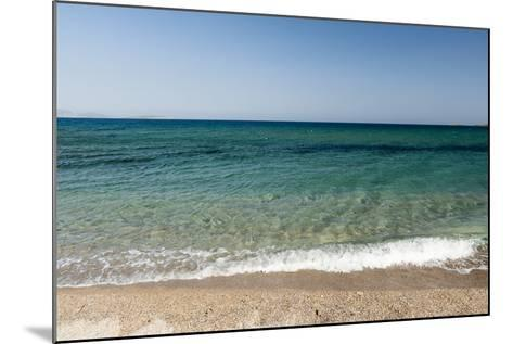 A Scenic View of the Aegean Sea from Soros Beach, on Antiparos Island-Sergio Pitamitz-Mounted Photographic Print
