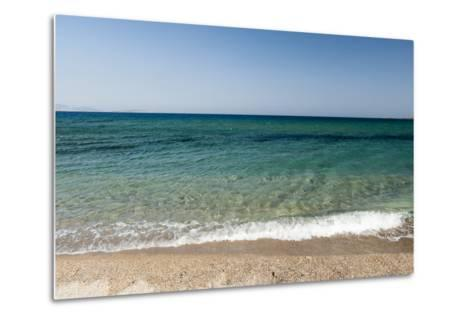 A Scenic View of the Aegean Sea from Soros Beach, on Antiparos Island-Sergio Pitamitz-Metal Print
