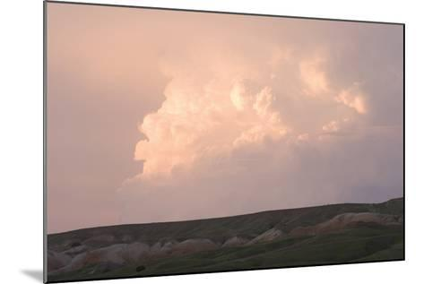 Late Afternoon Clouds Above the Buffalo Gap National Grasslands-Phil Schermeister-Mounted Photographic Print