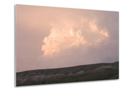 Late Afternoon Clouds Above the Buffalo Gap National Grasslands-Phil Schermeister-Metal Print