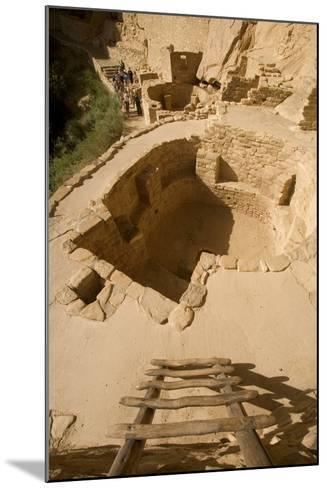 The Ruins of a Cliff Dwelling, Cliff Palace, in Mesa Verde National Park-Phil Schermeister-Mounted Photographic Print