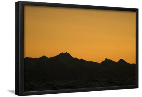 Sunset over the Lofoten Archipelago-Cristina Mittermeier-Framed Art Print