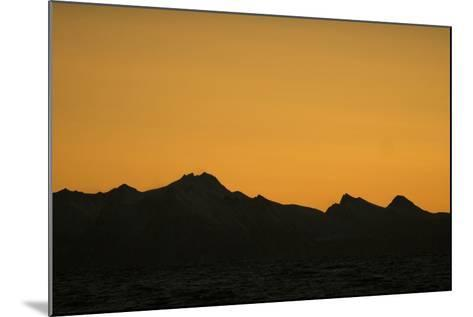 Sunset over the Lofoten Archipelago-Cristina Mittermeier-Mounted Photographic Print