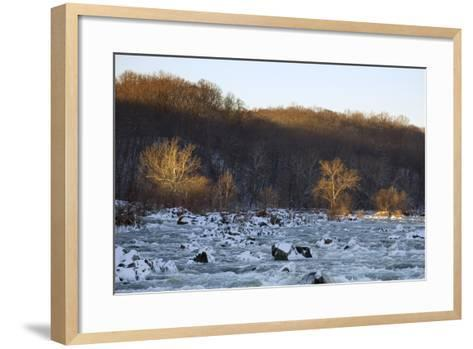Potomac River Above Great Falls, View from the Maryland Side of the River-Irene Owsley-Framed Art Print