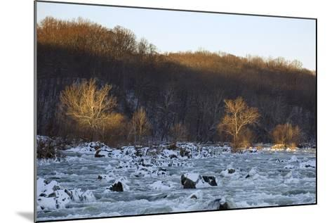 Potomac River Above Great Falls, View from the Maryland Side of the River-Irene Owsley-Mounted Photographic Print