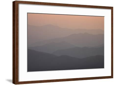 A View of Great Smoky Mountains National Park from Clingman's Dome-Phil Schermeister-Framed Art Print