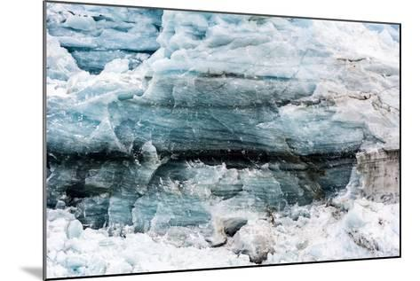 Crushed and Tortured Ice in the Cliff of a Glacier Fracture Zone-Jason Edwards-Mounted Photographic Print