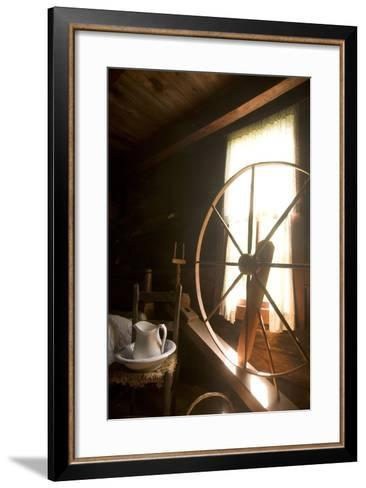 The Mountain Farm Museum in Great Smoky Mountains National Park-Phil Schermeister-Framed Art Print