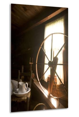 The Mountain Farm Museum in Great Smoky Mountains National Park-Phil Schermeister-Metal Print