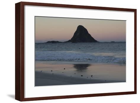 A Small Island Off the Coast of Andenes in the Northern Fjordlands of Norway-Cristina Mittermeier-Framed Art Print