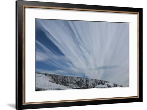 The Cloud Filled Sky Above Franz Josef Land-Cristina Mittermeier-Framed Art Print