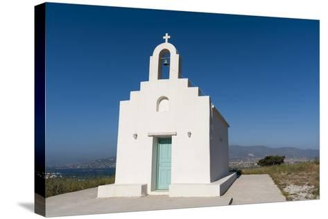 A Small Chapel on Antiparos Island-Sergio Pitamitz-Stretched Canvas Print