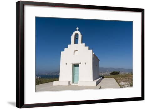 A Small Chapel on Antiparos Island-Sergio Pitamitz-Framed Art Print