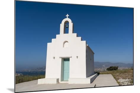 A Small Chapel on Antiparos Island-Sergio Pitamitz-Mounted Photographic Print
