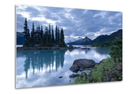 Battleship Islands in the Glacial Garibaldi Lake in Garibaldi Provincial Park-Paul Colangelo-Metal Print