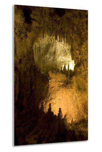 Entrance of a Small Room in Carlsbad Caverns National Park-Phil Schermeister-Metal Print