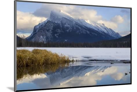 Mount Rundle and Vermillion Lake in Banff National Park-Paul Colangelo-Mounted Photographic Print