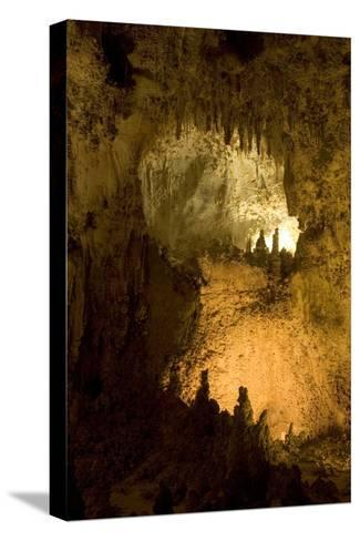 Entrance of a Small Room in Carlsbad Caverns National Park-Phil Schermeister-Stretched Canvas Print