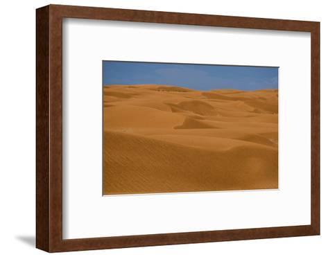 Sand Dunes in Canyonlands National Park-Paul Colangelo-Framed Art Print