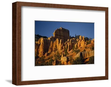 Exposed Orange Red Limestone in Dixie National Forest Near Bryce Canyon-Macduff Everton-Framed Art Print